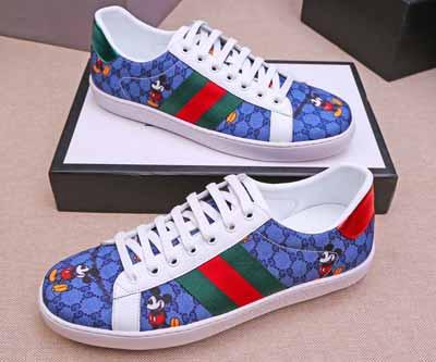 2020鼠年新款gucci魔幻跳跳糖系列米奇老鼠图案情侣款休闲鞋