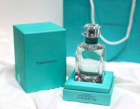 Tiffany& Co蒂芙尼官网新款香水钻石瓶