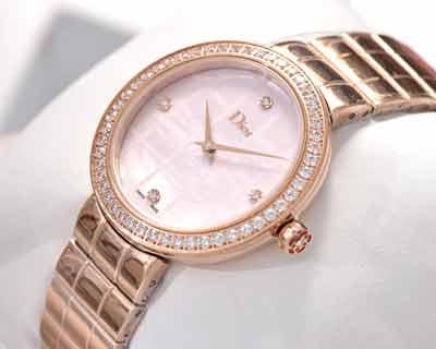 迪奥Dior全新高级珠宝手表系列 处处显露精致和高雅