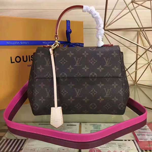 LOUIS VUITTON新款 Monogram  Cluny女士手袋M42738