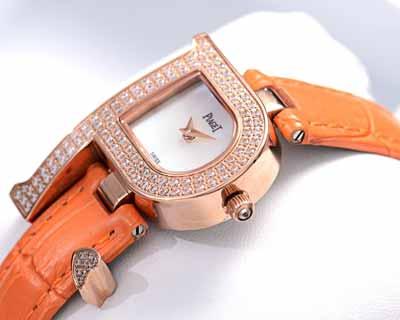 全世界最著名珠宝品牌伯爵遇见爱情系列石英机芯女表