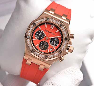 最新爱彼皇家橡树离岸系列计时石英手表